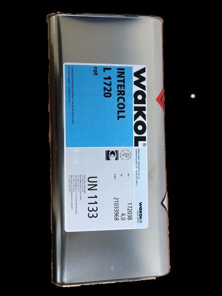 Klebstoff - Wakol Intercoll L 1720 - rot - 4 KG