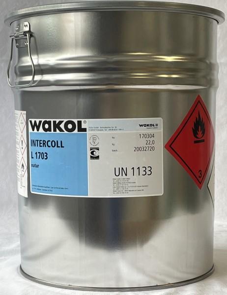 Klebstoff - Wakol Intercoll L 1703 - natur - 22 KG