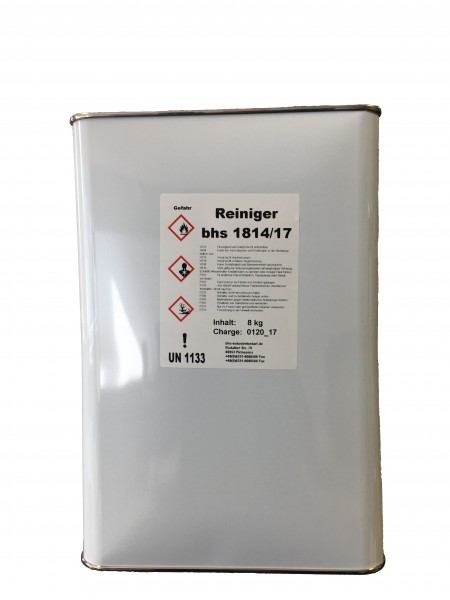 Reiniger - bhs 1814/17 . farblos - 8 KG