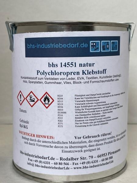 Klebstoff - bhs 14551 - natur - 600 g